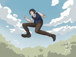 Art Trade - Jump by Jacyll