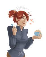 OC - Robin by Jacyll