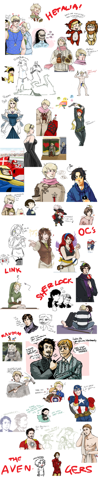 Iscribble Dump 5 by Jacyll