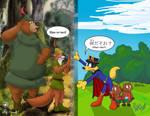 Zorori-sensei Meet Robin Hood