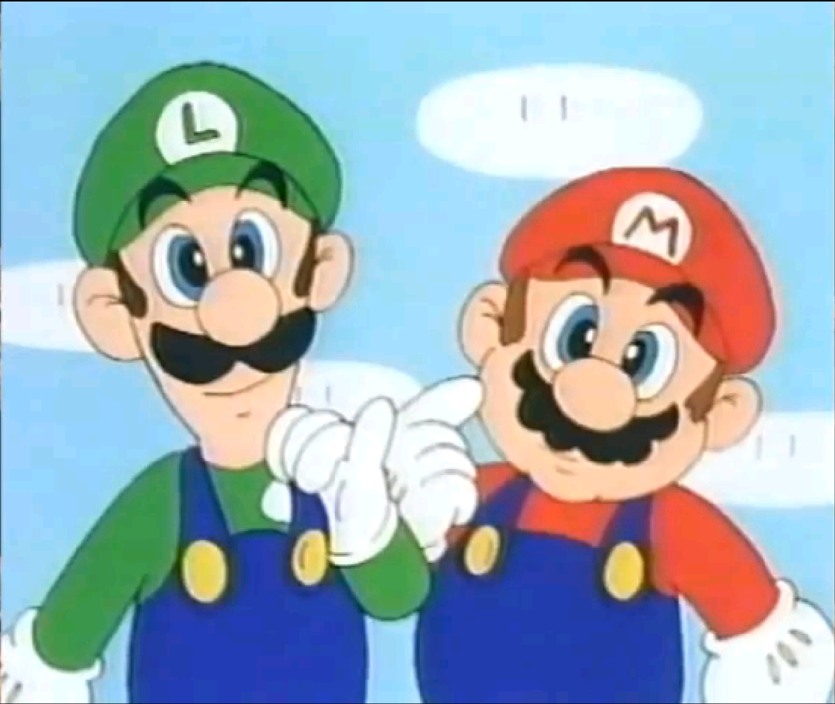 Cartoon Characters 3 Fingers : Mario and luigi cute face by princesspuccadominyo on