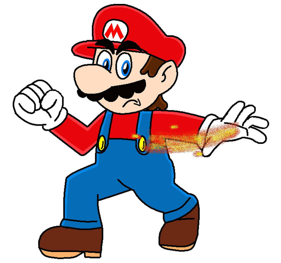 Mario With Fire Power By PrincessPuccadomiNyo On DeviantArt
