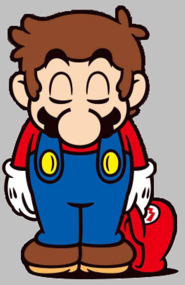 Mario Sad 3 by PrincessPuccadomiNyo on DeviantArt