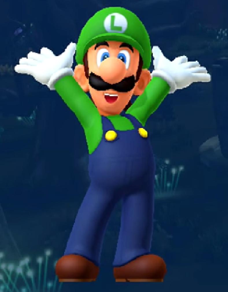 Luigi is the superstar mario party 10 by - Luigi mario party ...