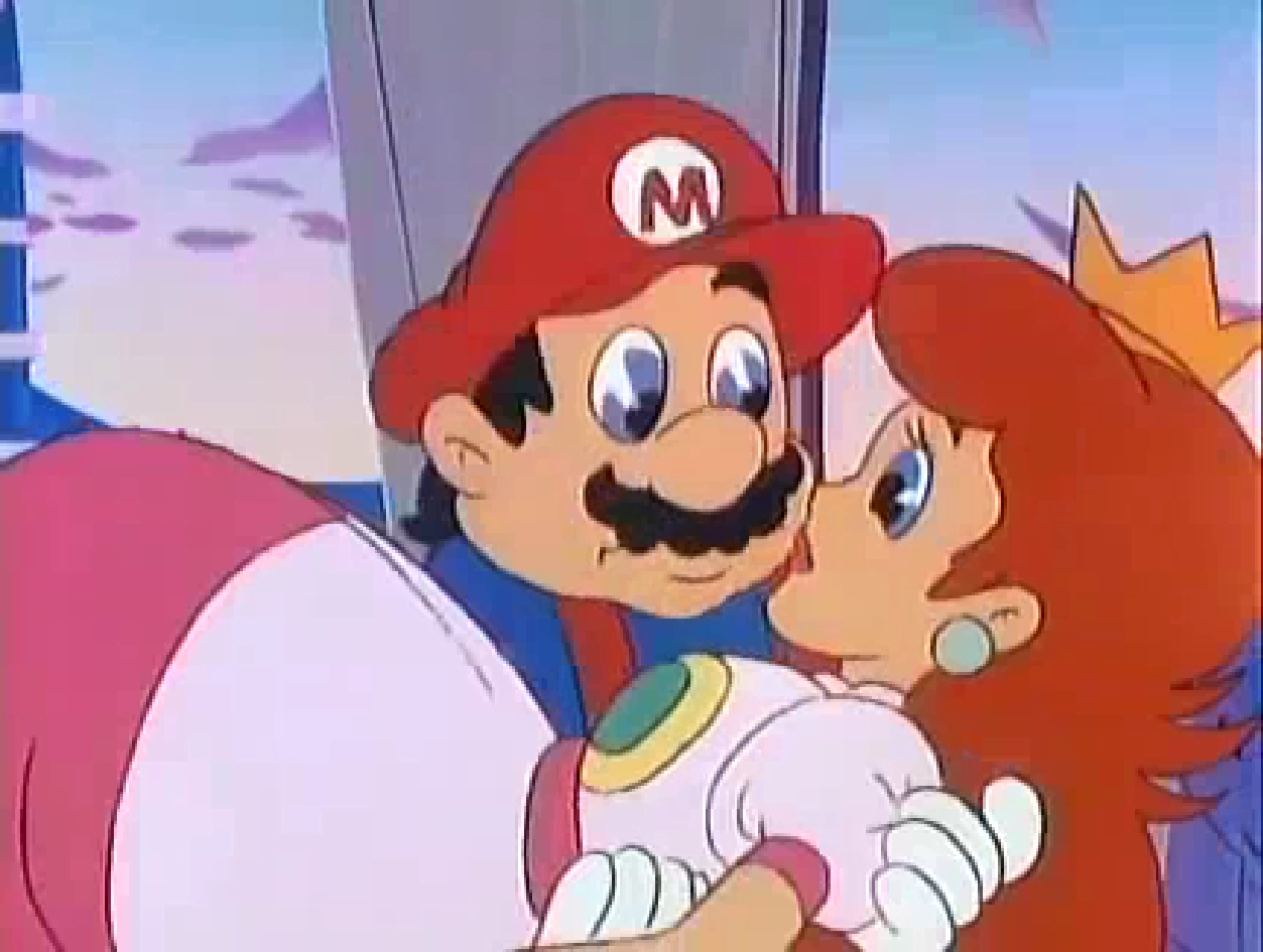Mario X Peach Moment Holding By Princesspuccadominyo On