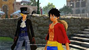 Luffy and Sabo (OP: World Seeker) Screenshot