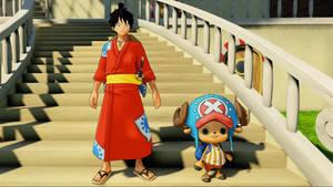 Luffy and Chopper (OP:WS Screenshot)_3