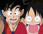 Toriko x One Piece x Dragon Ball Z (Screencap)_0