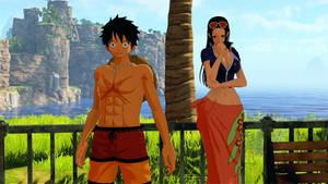 Luffy and Robin (OP: World Seeker) Screenshot_9(0)