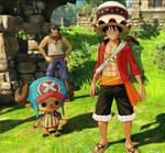 Luffy and Chopper (OP: WS Screenshot)_11
