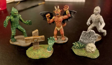 Miniatures on the Cheap by webdotstudio