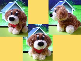 Harvest Moon Pompom Dog by chibichanalex