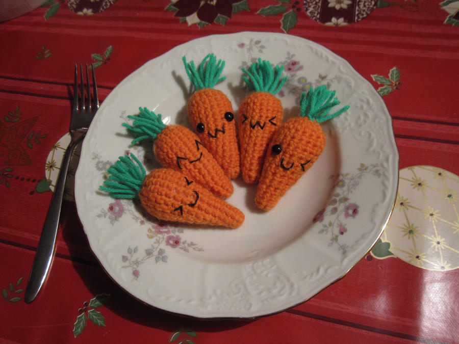 Kawaii carrots are kawaii (for sale!) by NurseRozetta95