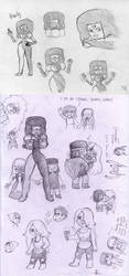 Steven Universe sketchdump