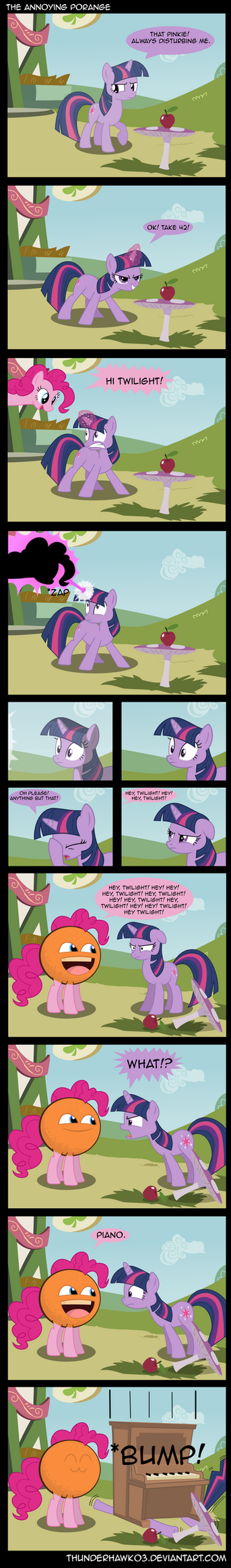 The Annoying Porange by Thunderhawk03