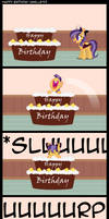 Happy Birthday Vanille913 by Thunderhawk03