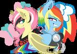 Rockershy and Electro Dash