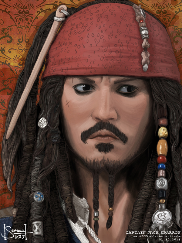 Captain Jack Sparrow by squall95