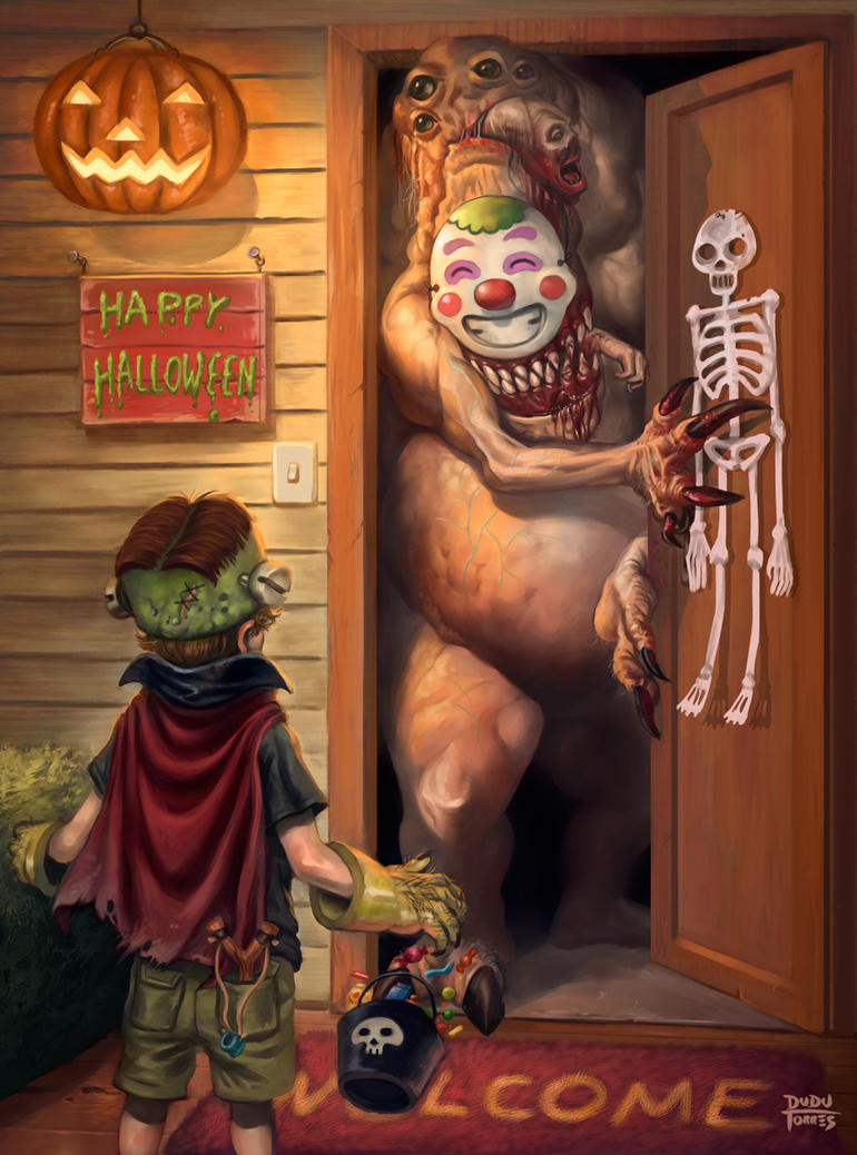 Happy Halloween by d-torres