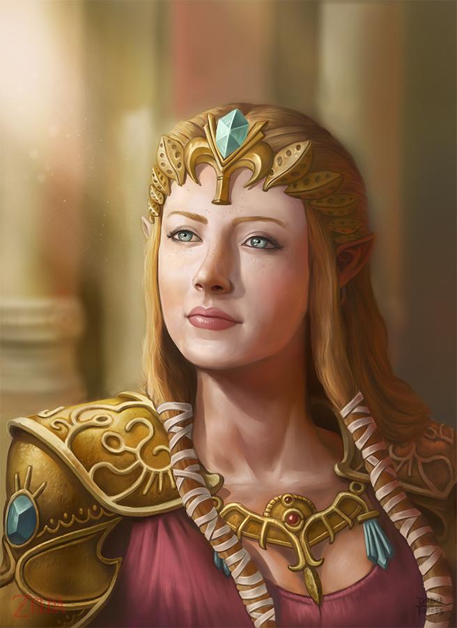 Zelda by d-torres