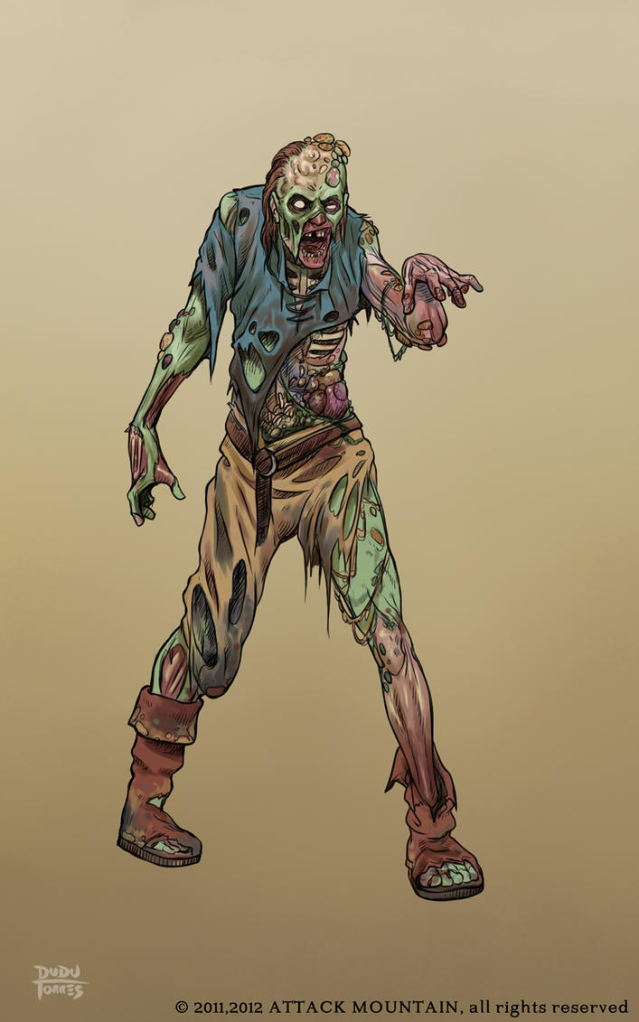 Character Design Zombie : Lots zombie character design by d torres on deviantart