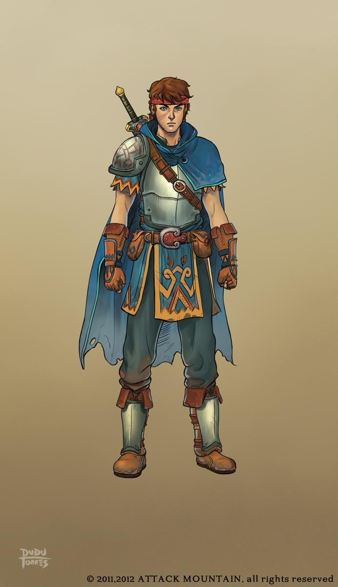 LOTS - Hero character design by d-torres