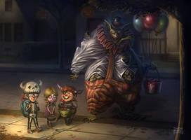 Halloween Night by d-torres