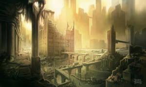 Post Apocalyptic Enviro Concept