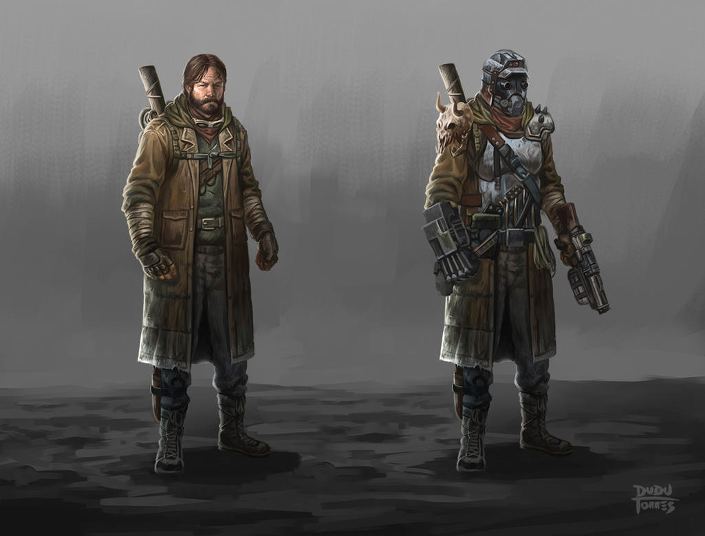 Post Apocalyptic character design by d-torres on DeviantArt
