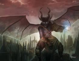 Demon boss by d-torres