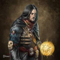 Vampire Hunter Mage Troop by d-torres