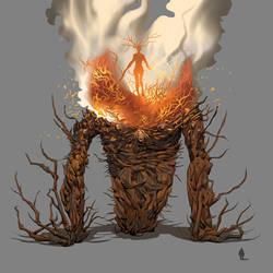 Kaijune Challenge - Ablaze