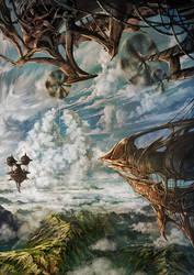Sky Ships by Satoshi-Takahara