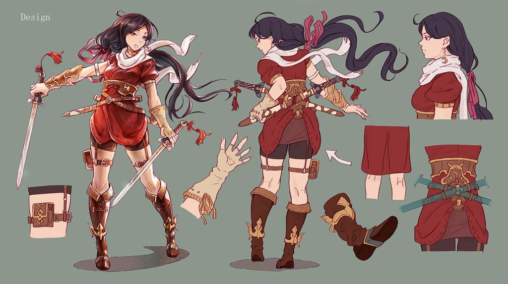 Character Design Contest : Character design for contest by satoshi takahara on deviantart