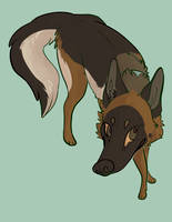 dainty dog by kaicaine