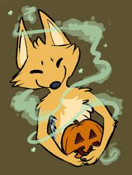 it's a jackal-lantern by kaicaine