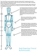 Tutorial #1 [Body proportions] by GothicLolitaPL