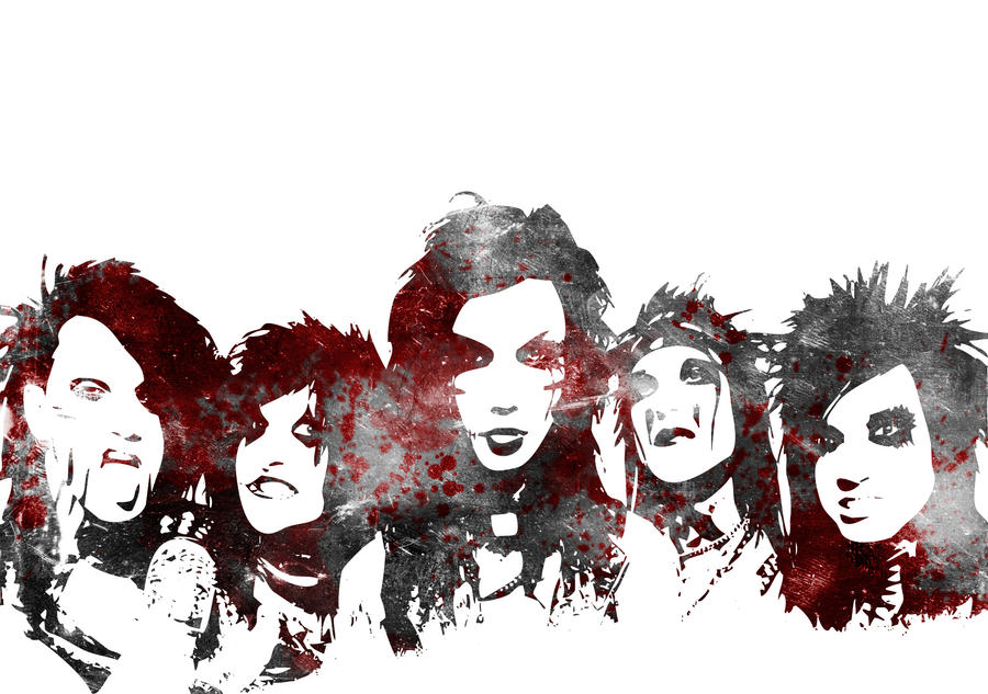 Black Veil Brides By 13Ghouls