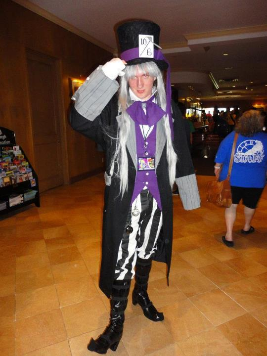Mad Hatter Undertaker Lobby (Tekko 2012) by JoeZep5