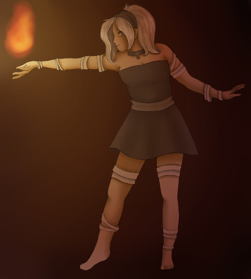 Keeper of the Flame by xmayflowerx