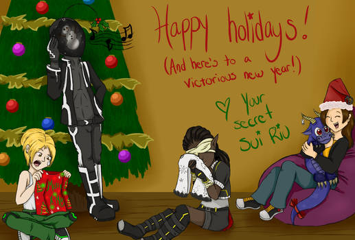 Secret SuiRiu: Insert Holly Jolly Christmas Title