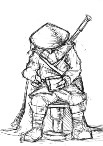 Casus Sketch by PaperCube4U