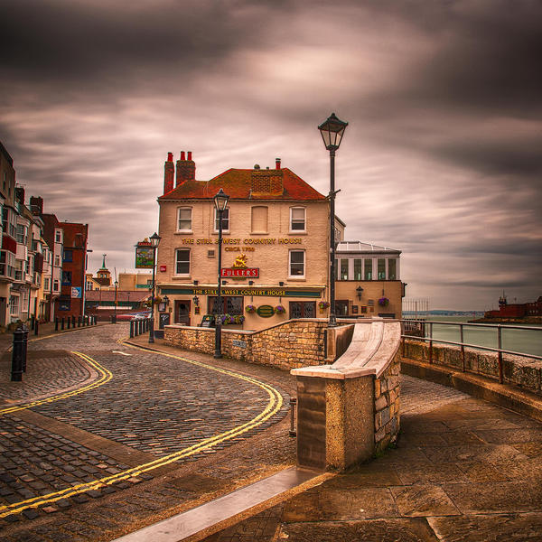 The Old Portsmouth II by AntonioGouveia