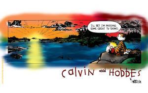 Calvin and Hobbes by MacIomhair