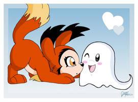 Foxi Meets Po