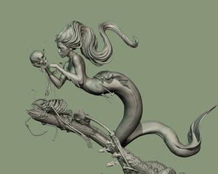 Mermaid For Fb4 by acornsam