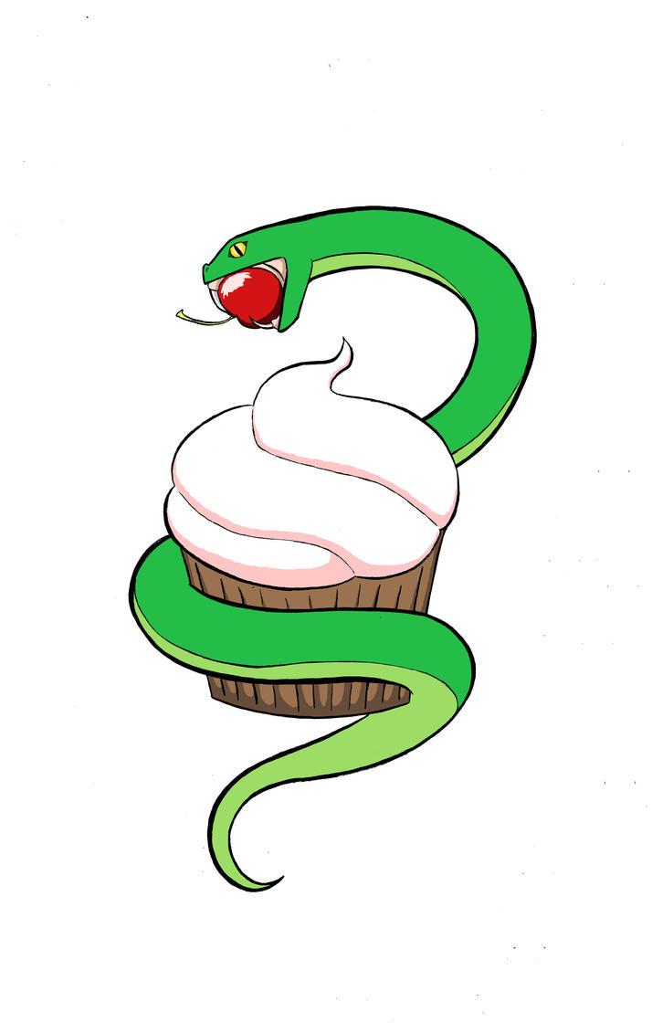 Snake Cake by MisterDuckerDude