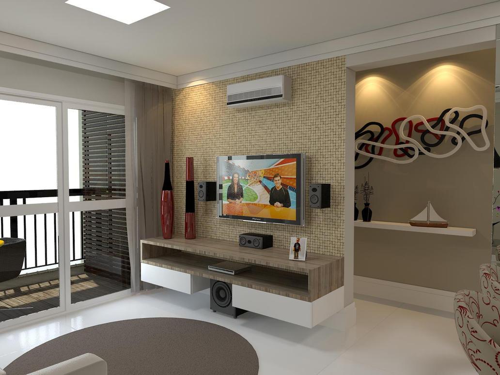 Apartamento decorado by mxpxcaio on deviantart for Decoracion de apartamentos pequenos