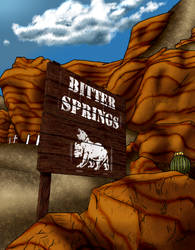 Bitter Springs by 1st-Recon-Lylith