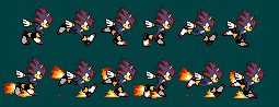 SU Shadow Running Sprites by TuffTony